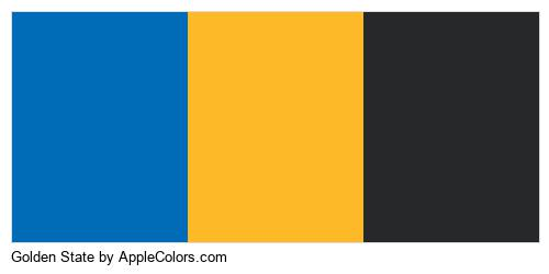 Golden State Colors Logo