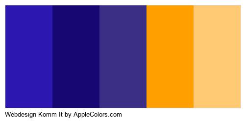 Webdesign Komm It Brand Colors Logo