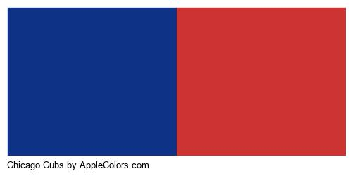 Chicago Cubs Colors Logo