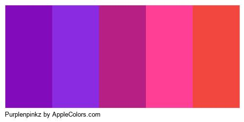 Purplenpinkz Brand Colors Logo