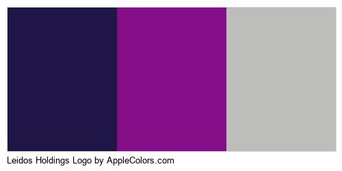 Leidos Holdings Logo Color Colors Logo