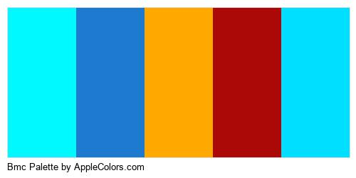 Bmc Palette Colors Logo