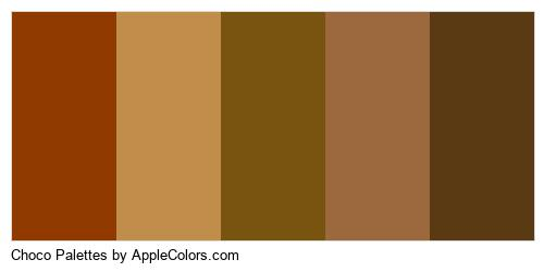 Choco Palettes Brand Colors Logo