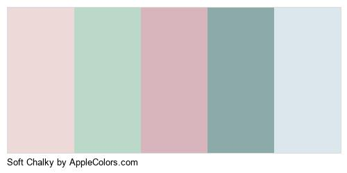Soft Chalky Palette Colors Logo