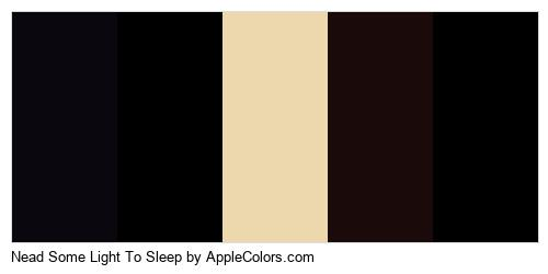 Nead Some Light To Sleep Color Colors Logo