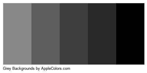 Grey Backgrounds Brand Colors Logo