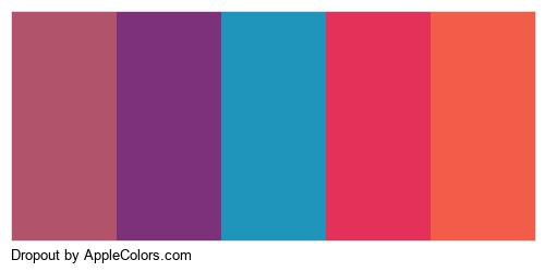 Dropout Palette Colors Logo