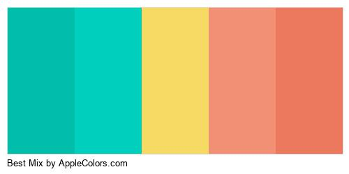 Best Mix Palette Colors Logo