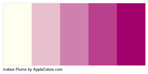 Icebox Plums Color Colors Logo