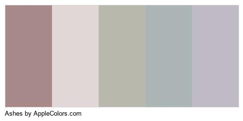 Ashes Palette Colors Logo
