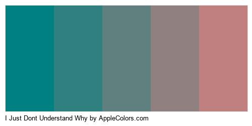 I Just Dont Understand Why Palette Colors Logo
