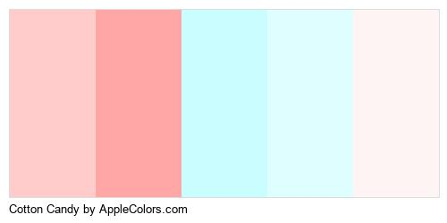 Cotton Candy Logo Colors Logo