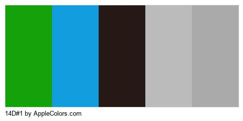 14D#1 Palette Colors Logo