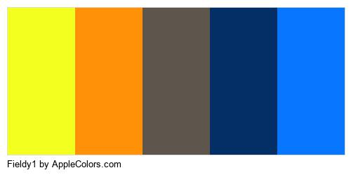 Fieldy1 Palette Colors Logo